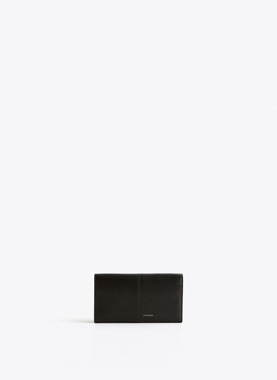 Brieftasche mit Steppnaht