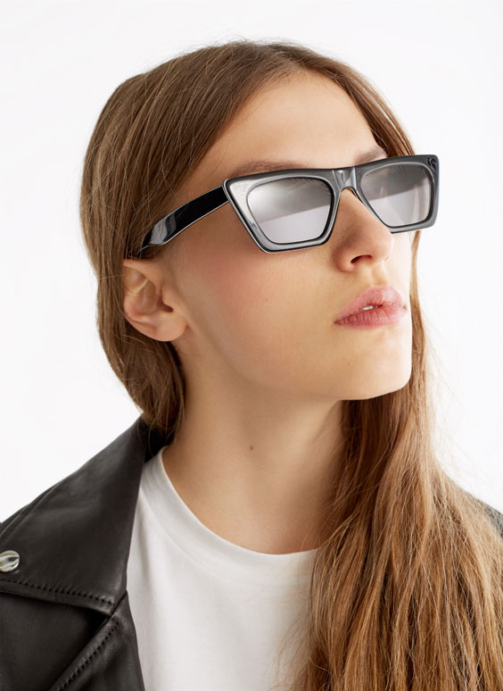 Rectangular line sunglasses