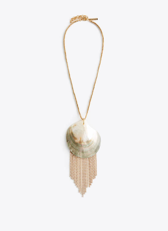 Maxi seashell necklace