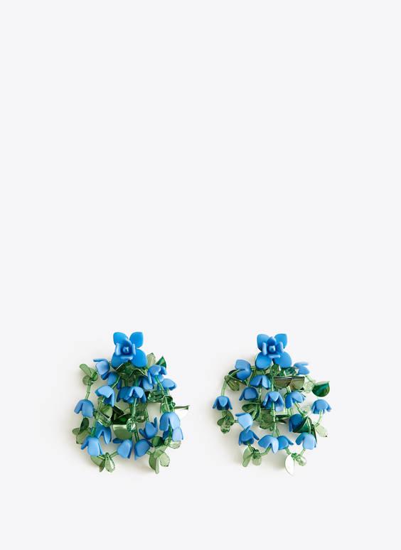 Pendiente cascada flores