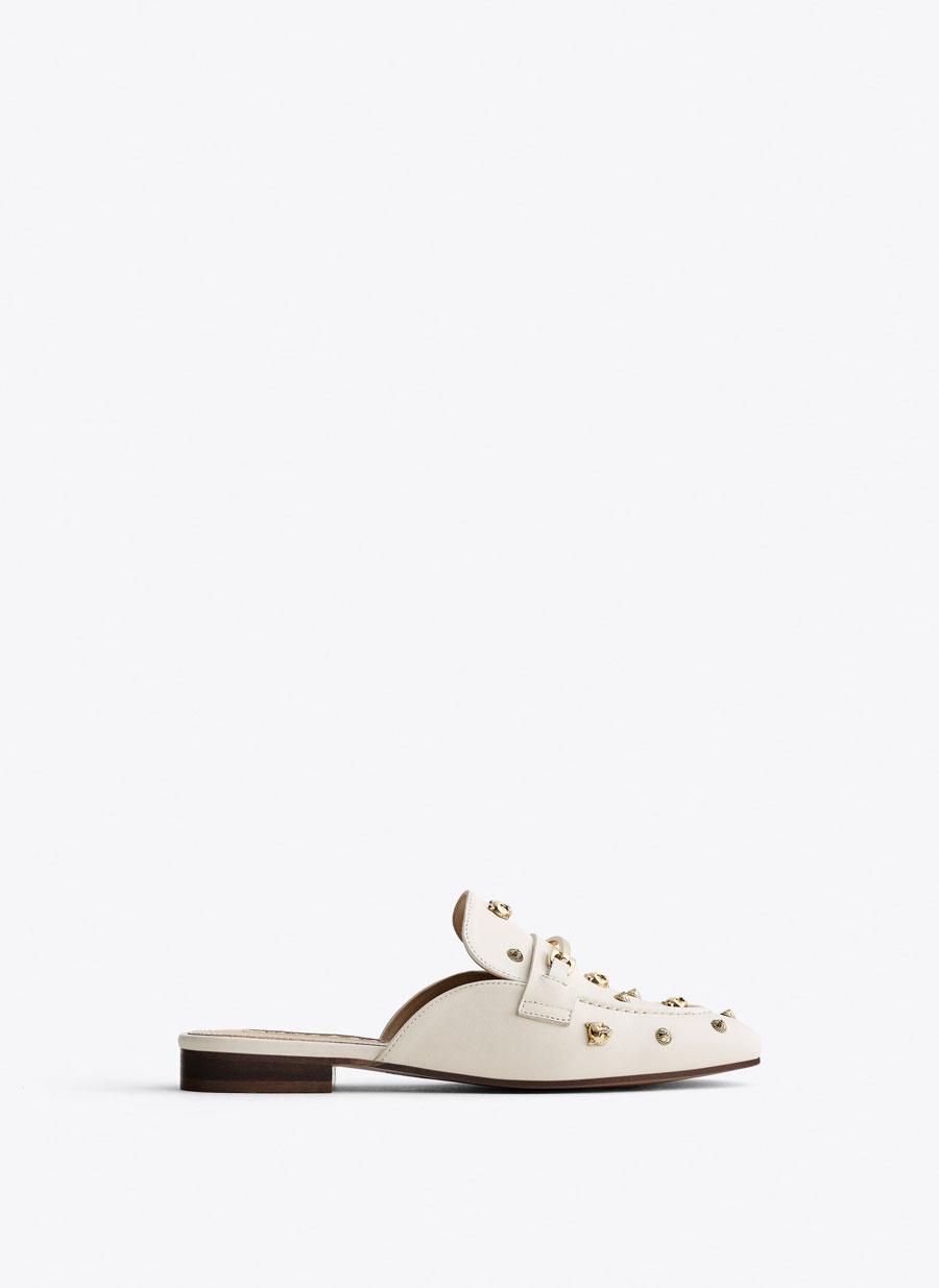 339caf25ad Εξώφτερνα δερμάτινα παπούτσια με διακοσμητικά στοιχεία - Εμφάνιση ...