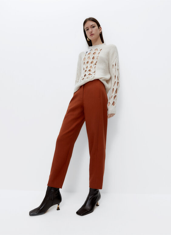 Russet trousers
