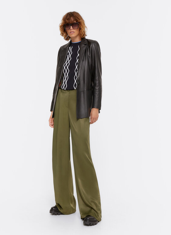 FLOWING PLEATED TROUSERS