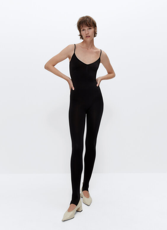 IN/OUT seamless strappy jumpsuit