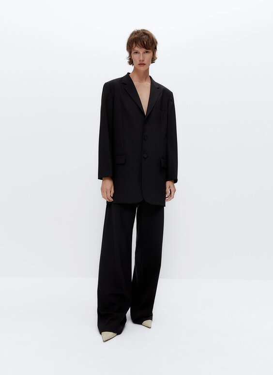 Blasier oversize lana IN/OUT