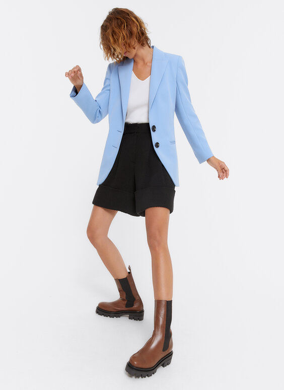 Sky blue blazer