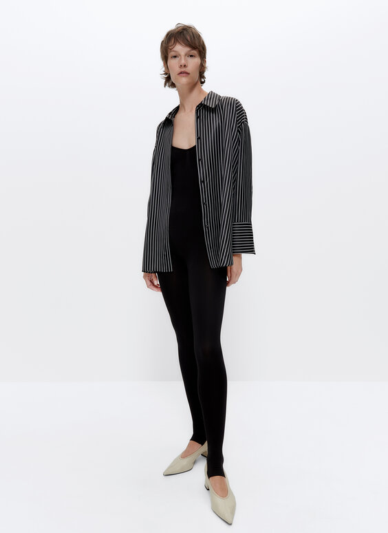 IN/OUT silk shirt