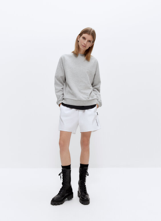 IN/OUT round neck sweatshirt