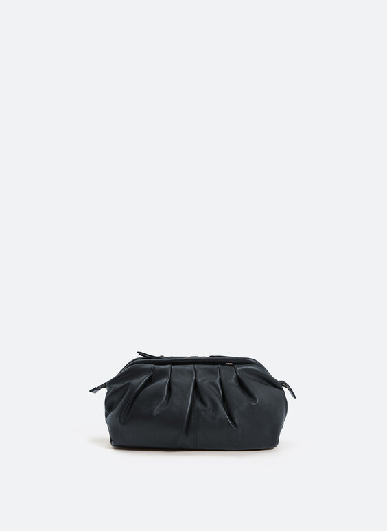 Medium sized bag with gathered detail