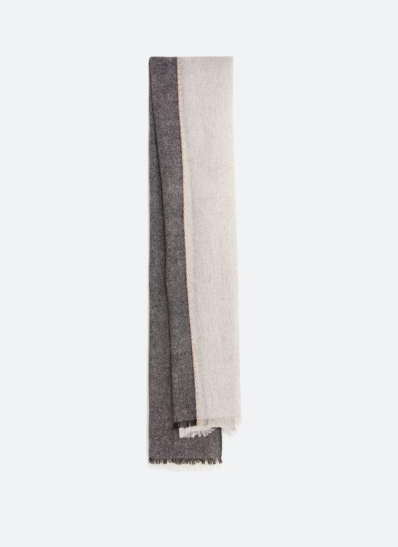 Écharpe laine tricolore