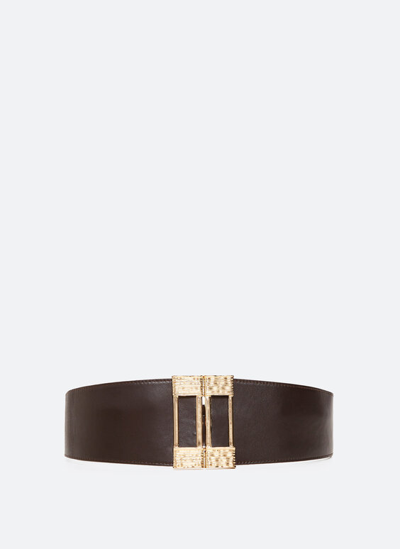 Three-piece-buckle stretch belt