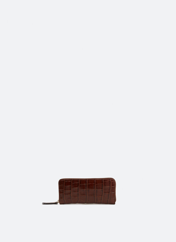 Fine leather purse