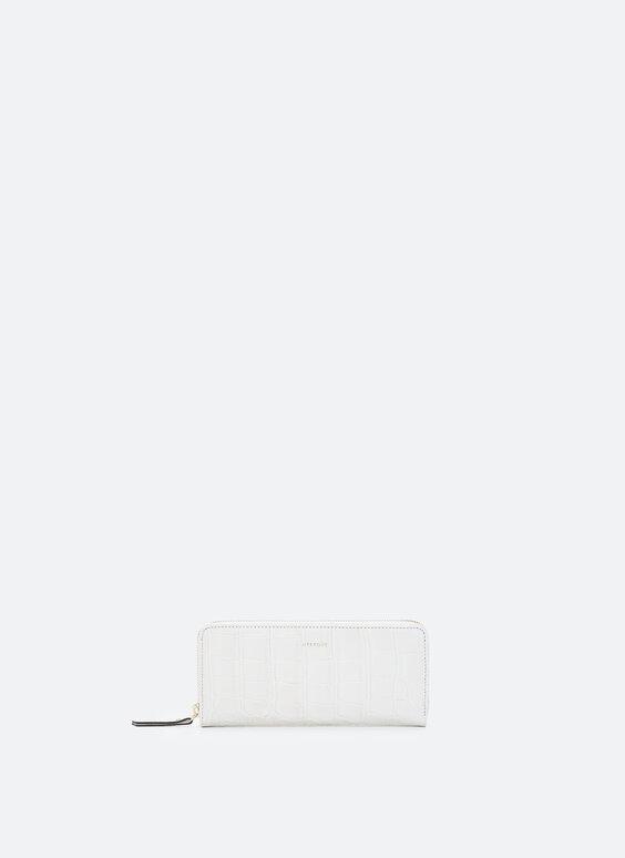 Jemná kožená peněženka