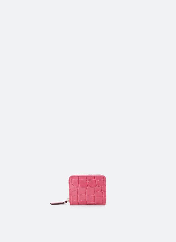 Kožená mini peněženka