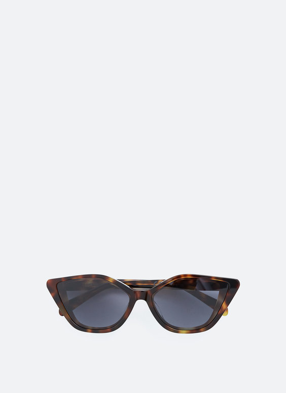 Cateye frame sunglasses