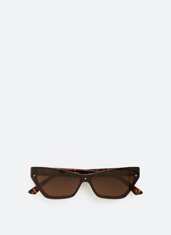 Cateye visor sunglasses