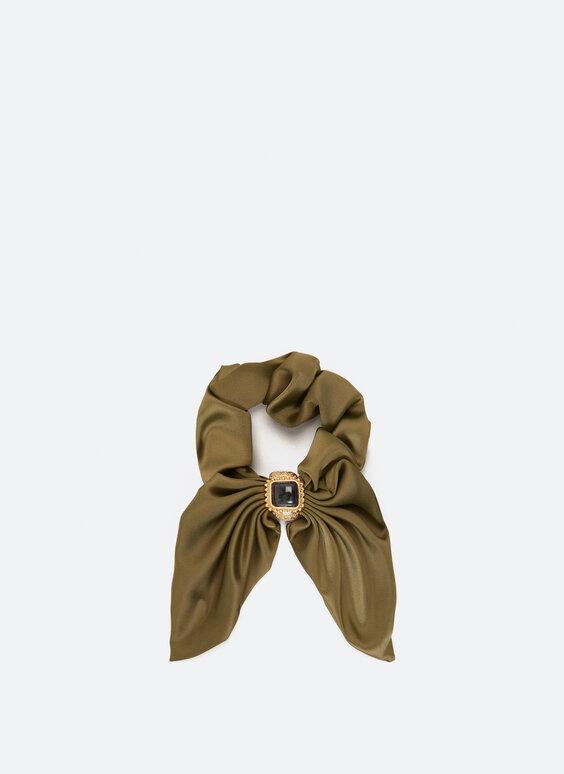 Bow scrunchie