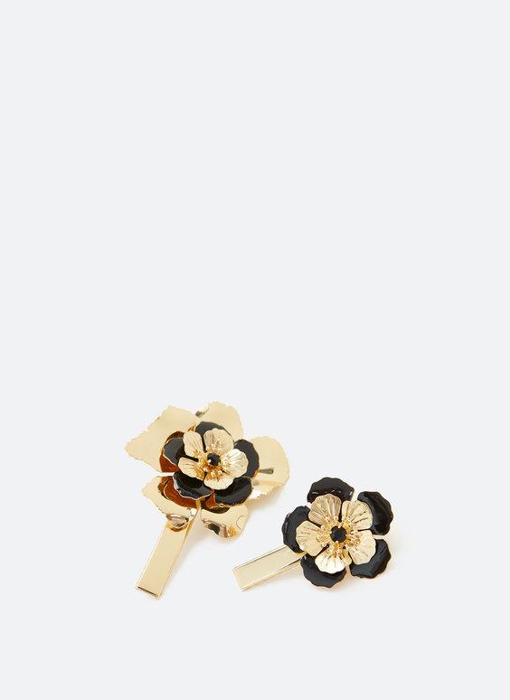 Sponky do vlasů s květy