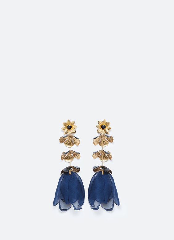 Bell-style earrings