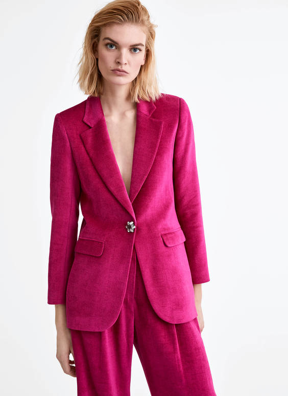 Blazer in Fuchsia