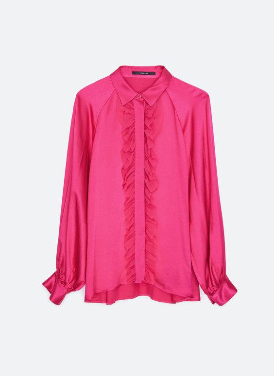 Koszula w kolorze fuksji