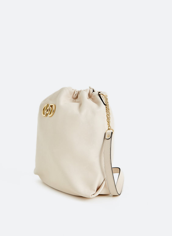Mala shoulder bag de pele