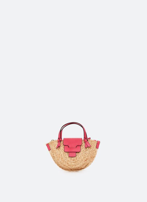 Mini mala de ráfia