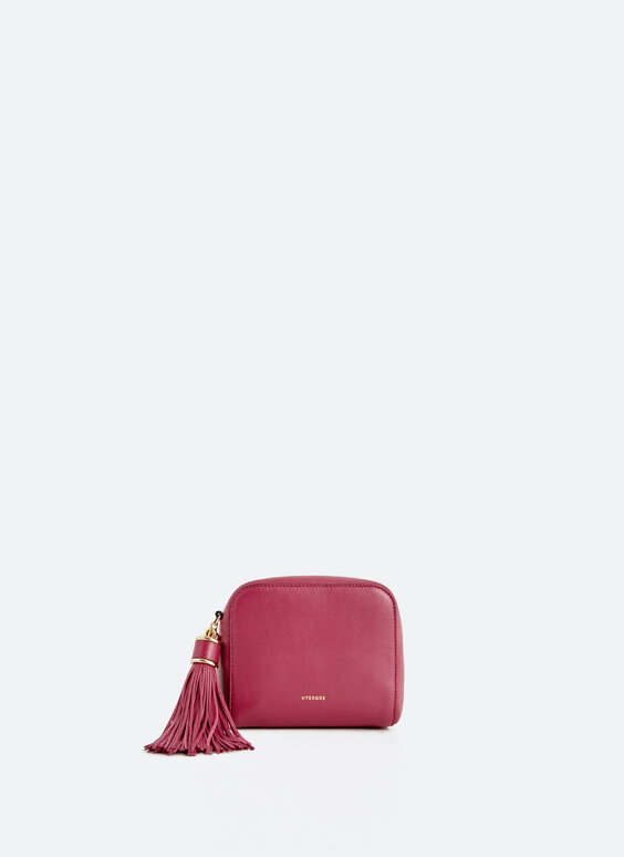 Crossbody bag with tassel