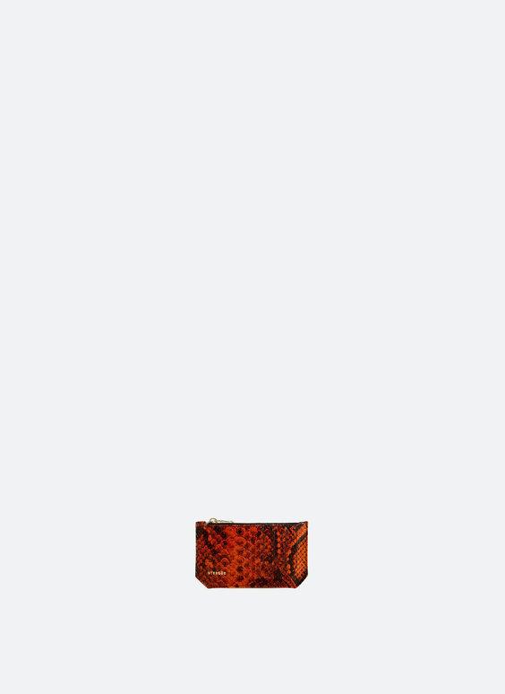 Kartentasche mit Reißverschluss