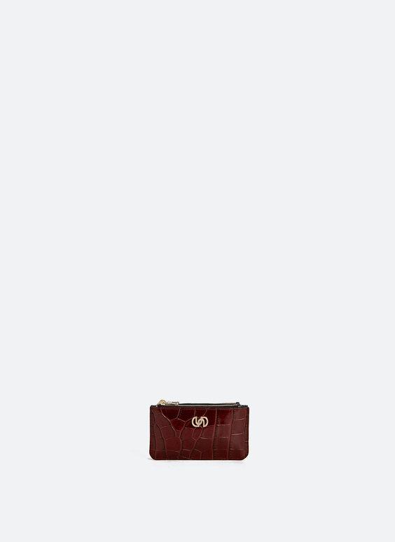 Portemonnaie mit zwei Fächern