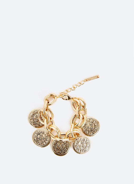 Bracelet avec pièces de monnaie