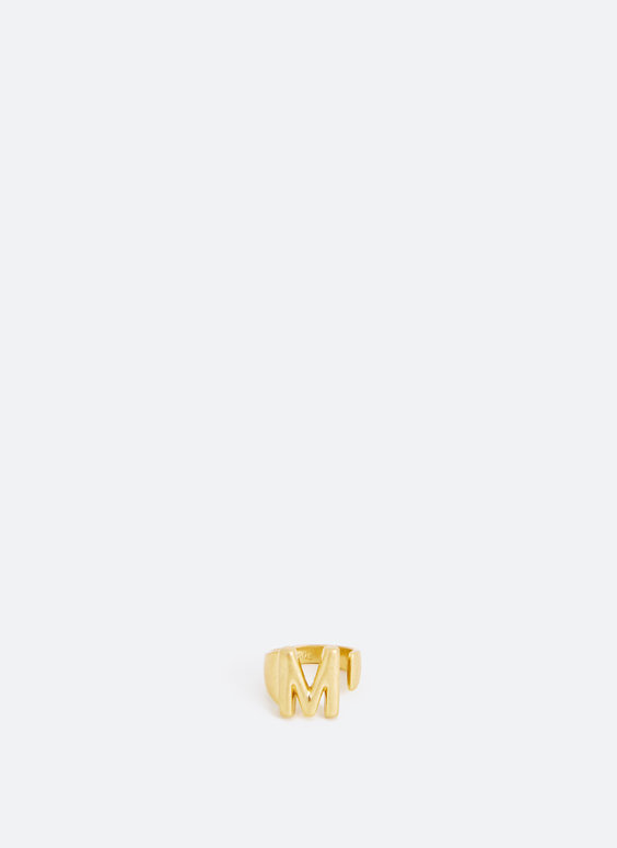 Limited edition letter ring