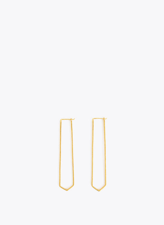 Limited edition long earrings