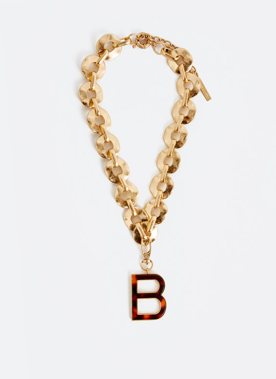 Special edition letter necklace