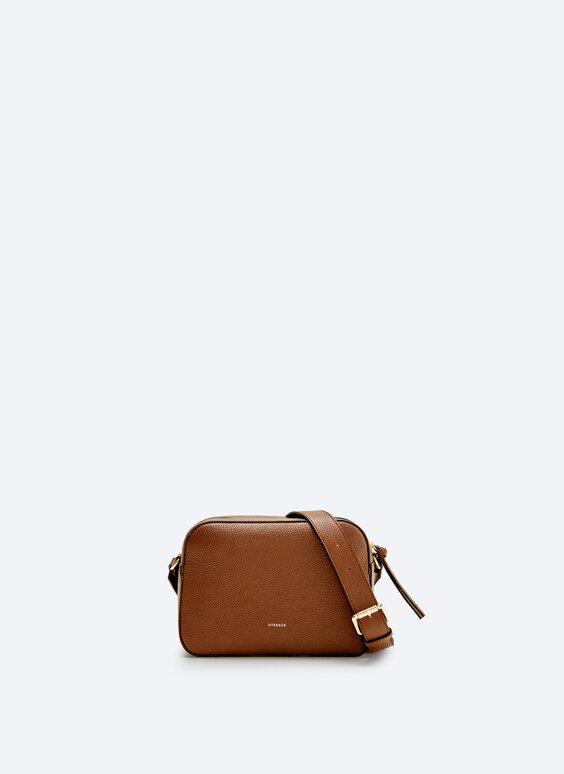 حقيبة كروس بودي جلدية