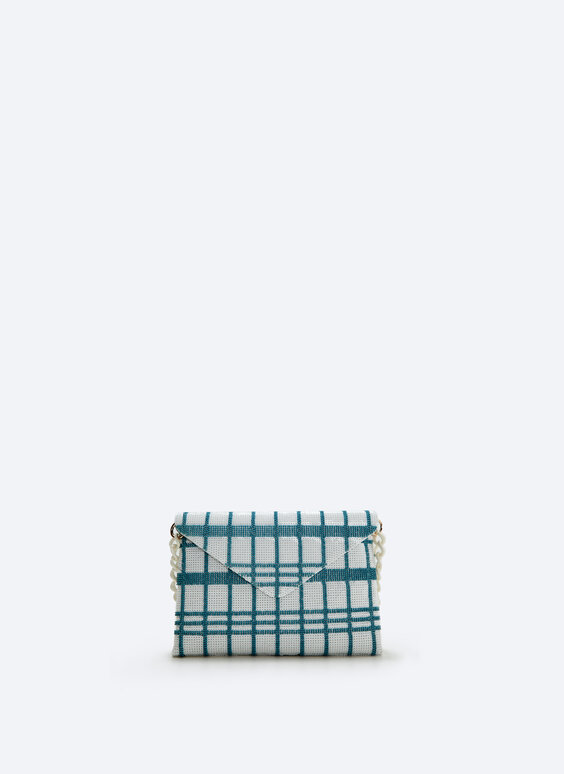 Evening clutch with sequins