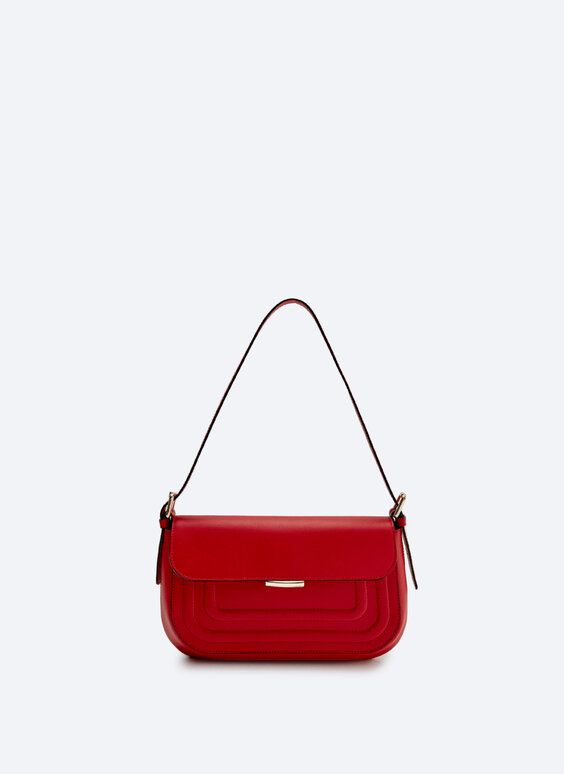 Leather boxcalf bag