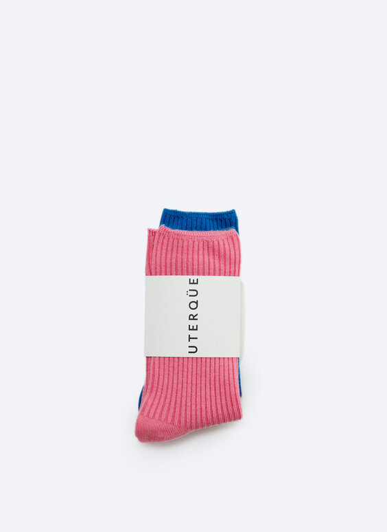 Pack of ribbed socks