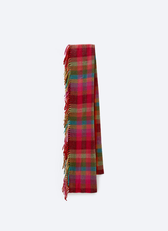Fine scarf with fringing