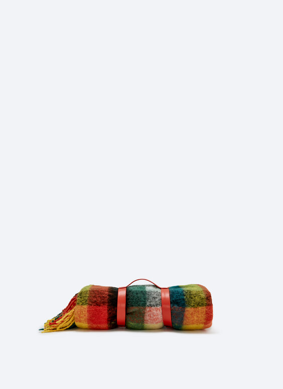 Шарф-одеяло для дома
