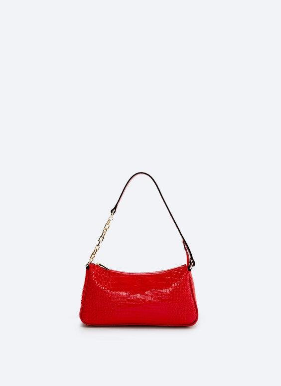 Кожаная сумка с плечевым ремнем
