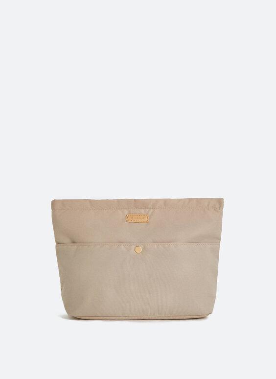 Bag organiser with zip