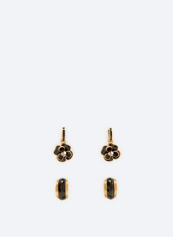 Pack of changeable earrings