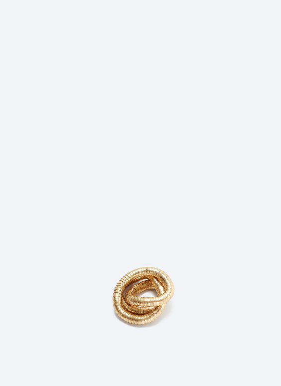 Shapeable tube ring