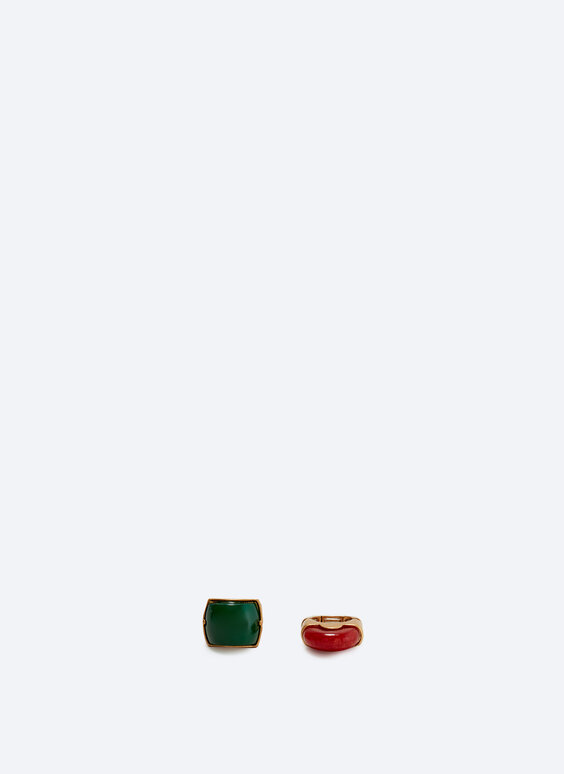 Pack of two rings