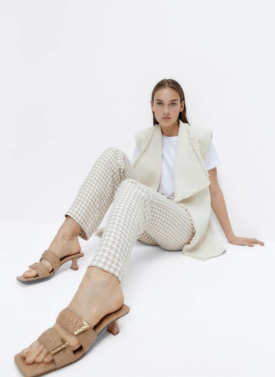 Pantaloni pied-de-poule