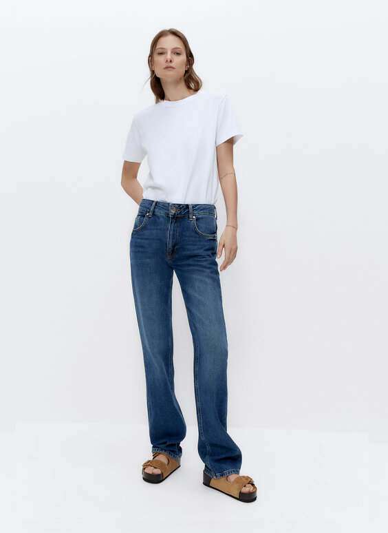 Pantalón denim IN/OUT