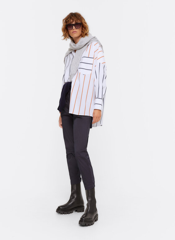 Mixed stripes shirt
