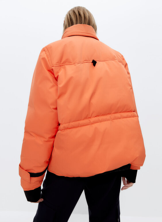 Parka orange 0.0 Studio