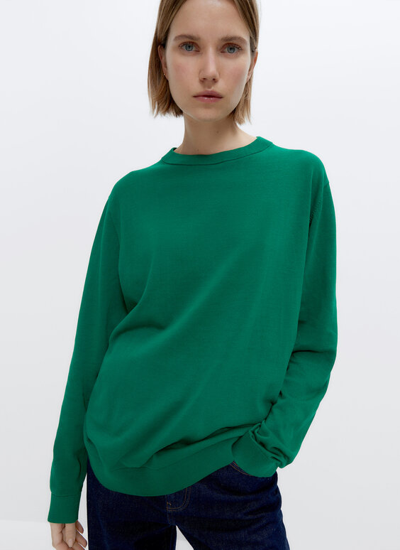 0.0 Studio cotton sweater